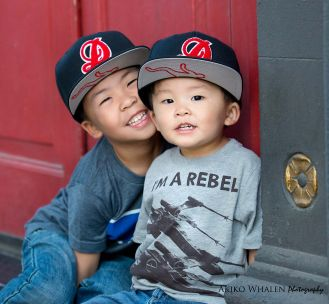 Children and Family Photography in Los Angeles, Los Angeles Downtown Art District, Modern Children and Family Portraits,