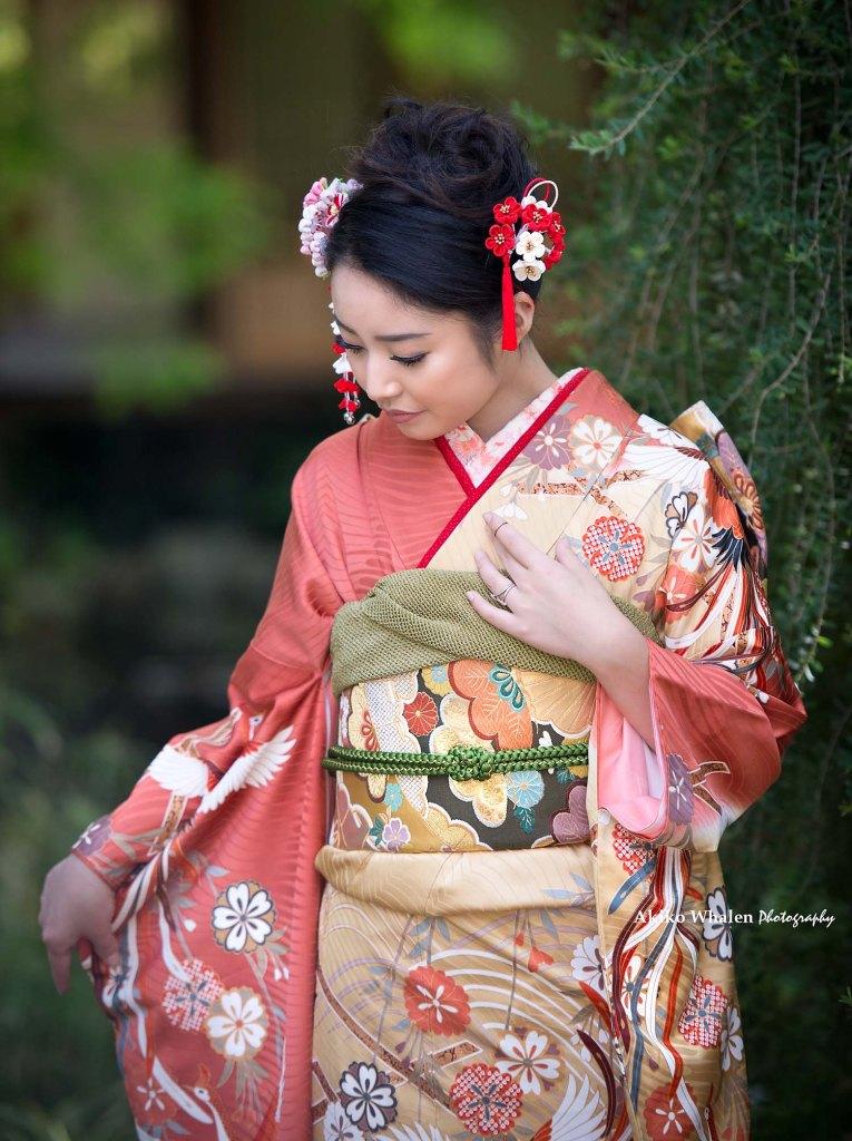 Storrier Stearns Japanese Garden, Kimono Photo Session, Pasadena