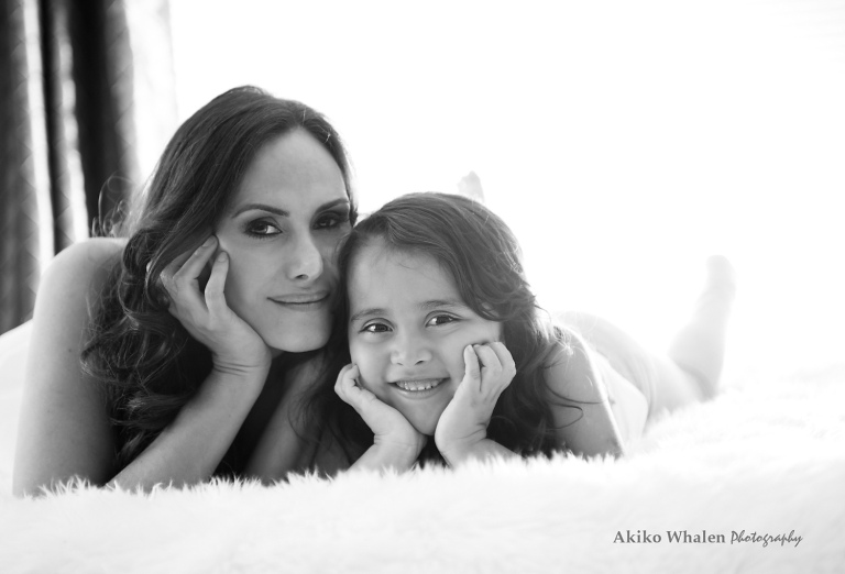 mother and daughter portraits. Something timeless and something intimate on location photography.