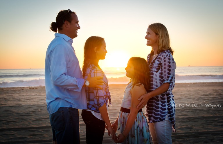 Hermosa Beach, Redondo Beach, Santa Monica Beach, Malibu Beach, Newport Beach,Beach in Southern California, Family Session on Beach, On location photography,
