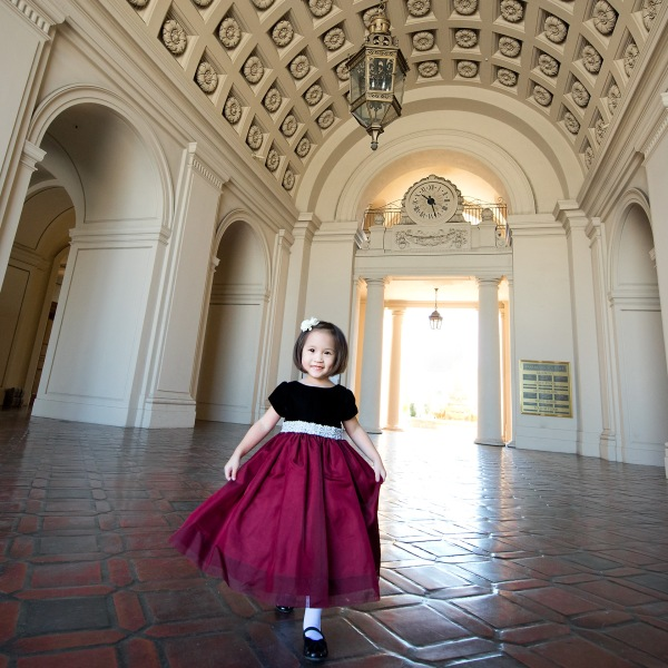 Family Photo Session at the Pasadena City Hall