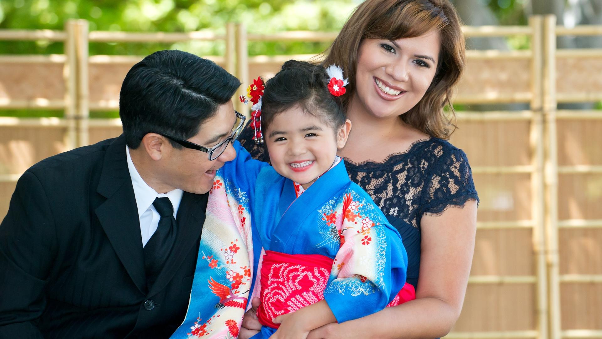 Shichi Go San, girl in blue kimono, family portraits in Los Angeles, Kimono no Kobeya, Asahi Gakuen, Kodomonoie in San Gabriel, Higashi Hongan Ji in Los Angeles, Koyasan in Los Angeles,